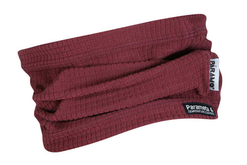 Páramo Grid Neckwarmer: Wine