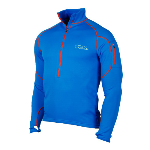 OMM Contour Race Fleece in Blue/Orange
