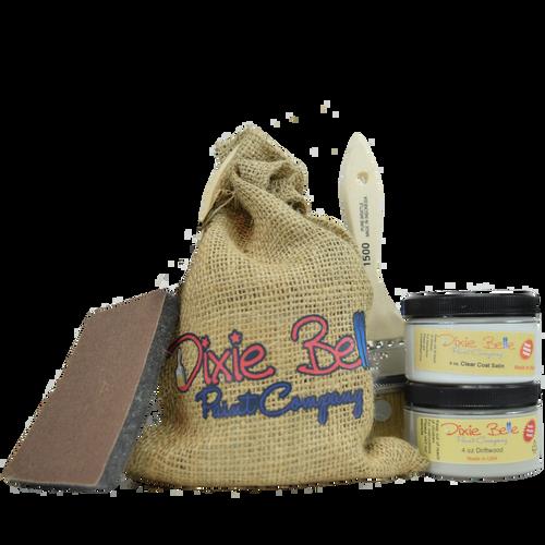Dixie Belle Paint Gift Bag (Driftwood w/clear coat)