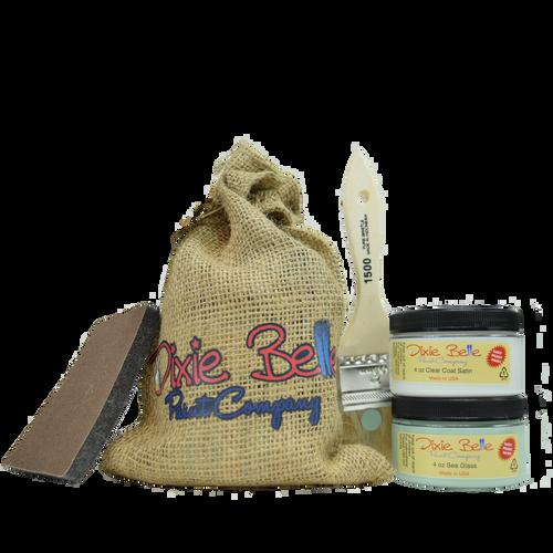 Dixie Belle Paint Gift Bag (Sea Glass w/clear coat)