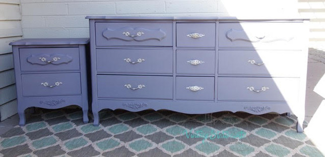 How to Paint French Dressers Mason Dixon Gray