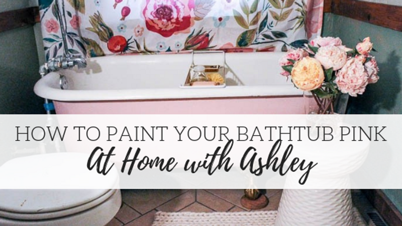 How to Paint a Claw Foot Tub – At Home with Ashley