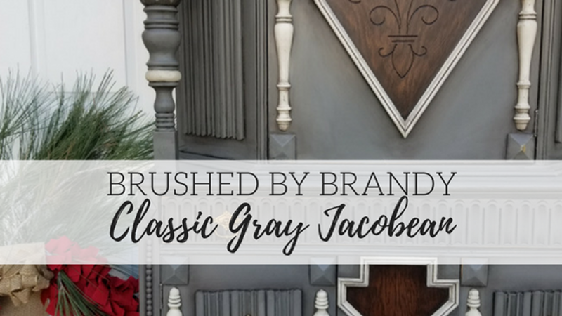 Brushed By Brandy - Classic Gray Jacobean