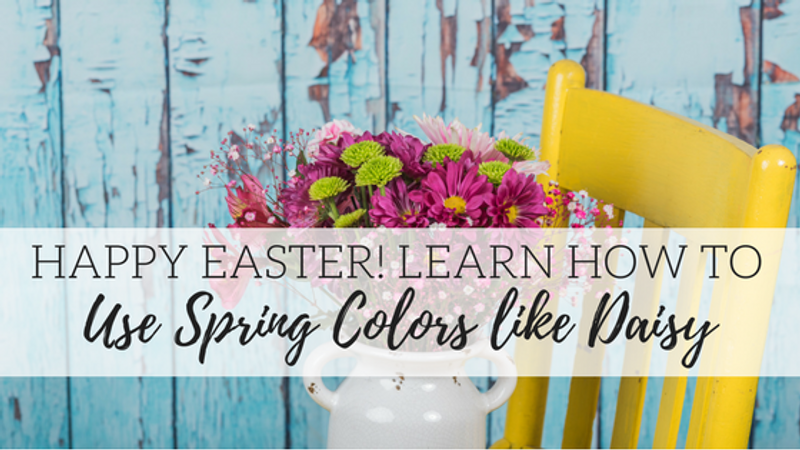 Happy Easter! Learn How to Use Daisy, Pink Champagne, The Gulf and Limeade