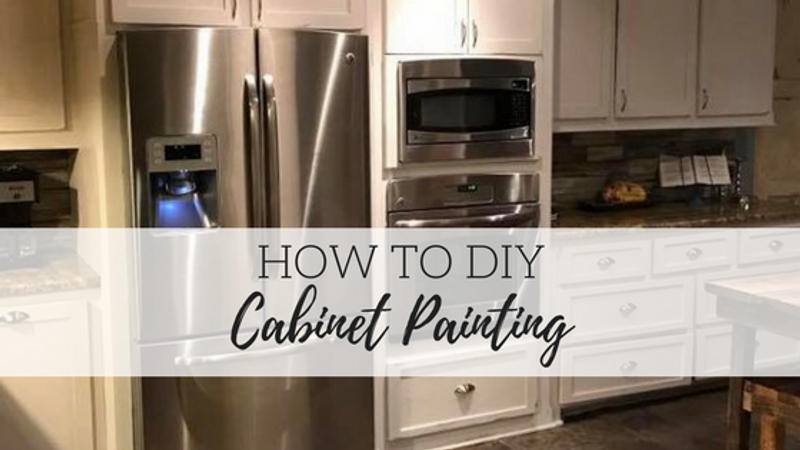 DIY Cabinet Painting