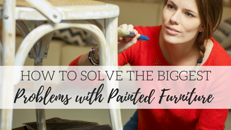 How to Solve the Biggest Problems with Painted Furniture