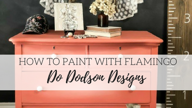 How to Paint with Flamingo - Do Dodson Designs