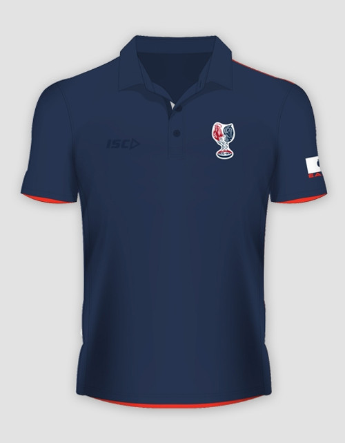 Sydney Roosters 2016 Mens Heritage Polo - Navy