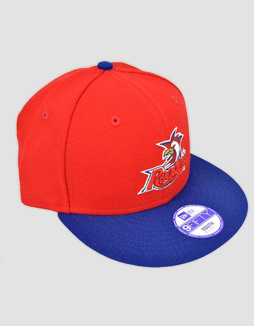 Sydney Roosters New Era 9FIFTY Youths Red Cap