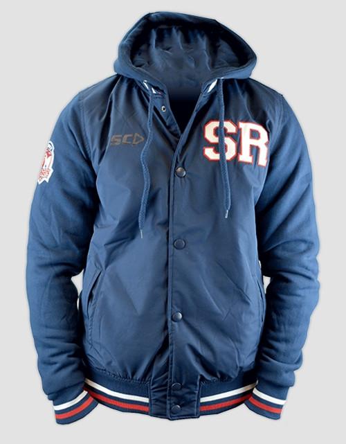 Sydney Roosters 2016 Mens Hooded Baseball Jacket