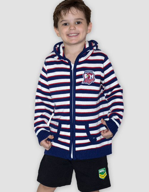Sydney Roosters Toddlers Hoody Cardigan