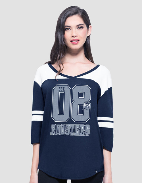 Sydney Roosters Womens 47 Brand Rush Tee