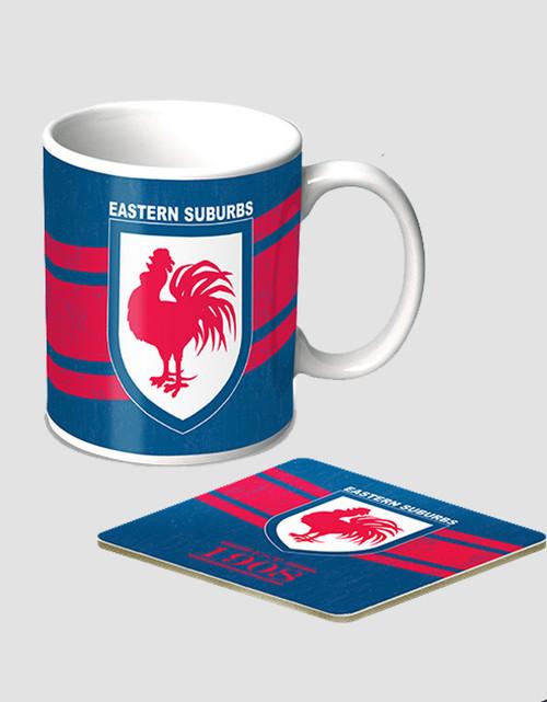 Sydney Roosters Heritage Mug Set