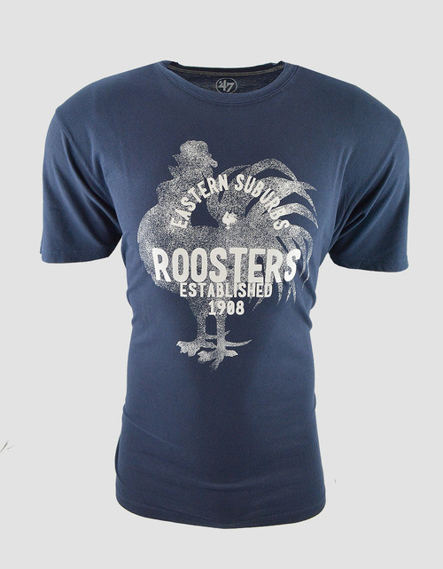 Sydney Roosters Mens 47 Brand Flatiron Tee
