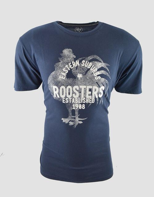 Sydney Roosters Mens 47 Brand Flatiron Tee