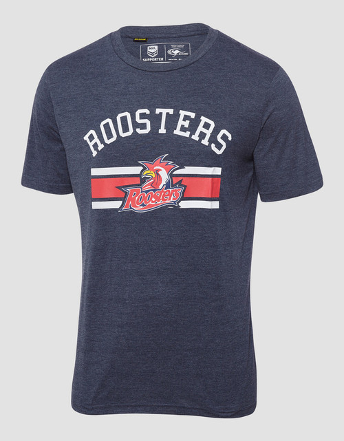 Sydney Roosters 2018 Mens Classic Marle Tee Navy