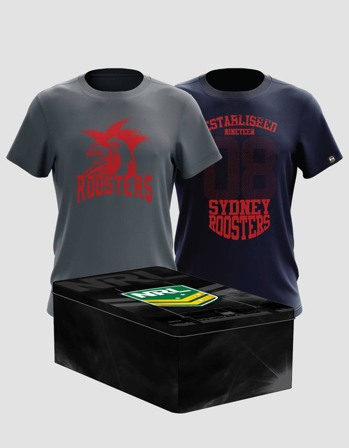 Sydney Roosters Mens Classic Twin Tee Pack
