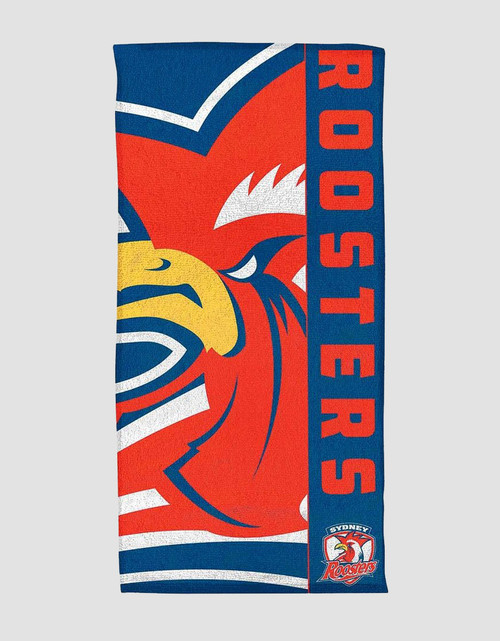 Sydney Roosters Logo Beach Towel