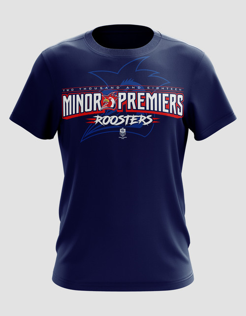 Sydney Roosters 2018 Mens Classic Minor Premiers Tee