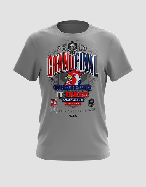Sydney Roosters 2018 Mens ISC Grand Final Tee