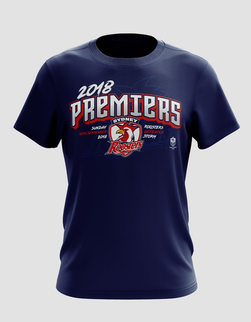Sydney Roosters 2018 Mens Classic Premiers Tee