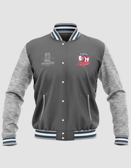 Sydney Roosters 2018 Mens Classic Premiers Varsity Jacket
