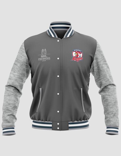 Sydney Roosters 2018 Mens Classic Premiers Varsity Jacket