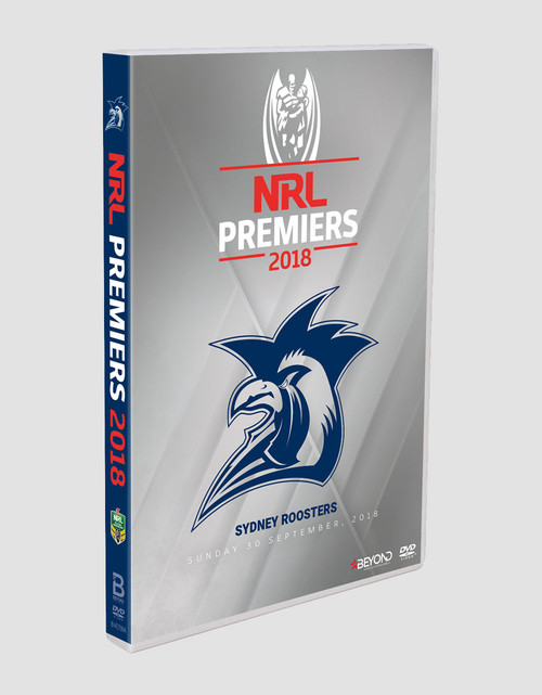 Sydney Roosters 2018 Premiers DVD