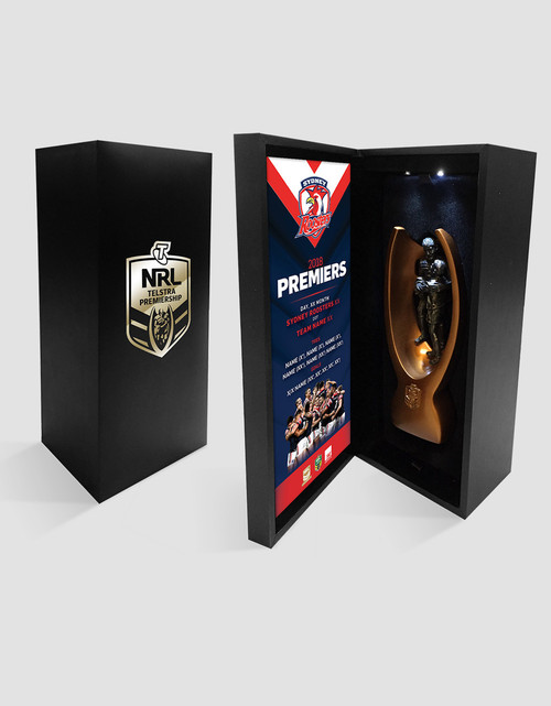 Sydney Roosters 2018 Premiers Replica Mini Trophy