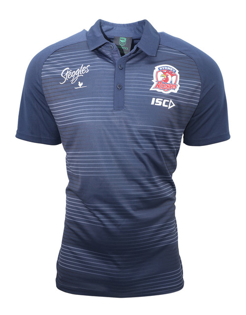 Sydney Roosters 2019 ISC Mens Media Polo