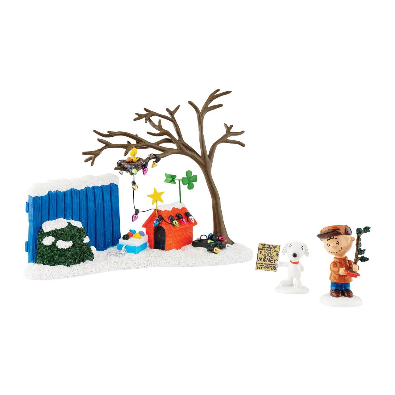 Department 56 Peanuts Christmas True Meaning Figurine Set Of 3