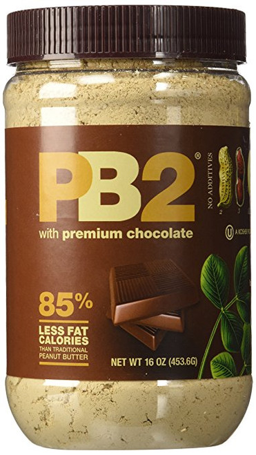 PB2 Powdered Chocolate Peanut Butter 1 Lb Jar (4 Pack)