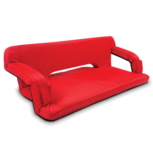 Picnic Time Portable Reflex Travel Couch (Red, Regular)