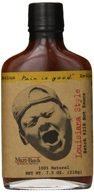 Pain is Good Batch #218 Louisiana Style Hot Sauce, 7.5 Ounce