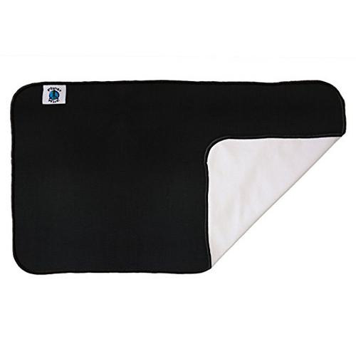 Planet Wise Designer Waterproof Diaper Pad, Black