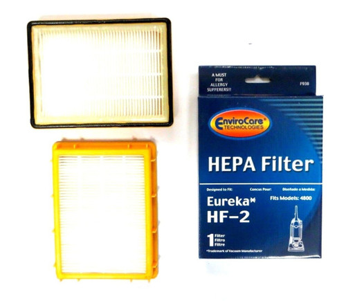 (3) Eureka HF2 Hepa Pleated Filter HF-2 Eureka Upright Ultra Smart, Boss, Omega, UltraSmart Vac Cyclonic, Whirlwind Vacu