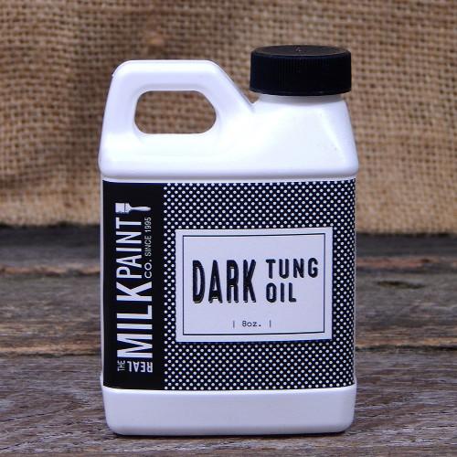 Real Milk Paint Dark Raw Tung Oil - 8 oz.