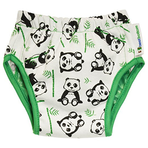 Best Bottom Training Pants, Playful Panda, Medium