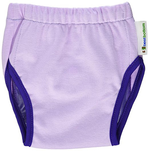 Best Bottom Training Pants, Grape, Medium