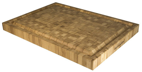 """Totally Bamboo Pro Board Long, 100% Bamboo Cutting, Carving & Serving Board, 22"""" by 16"""""""