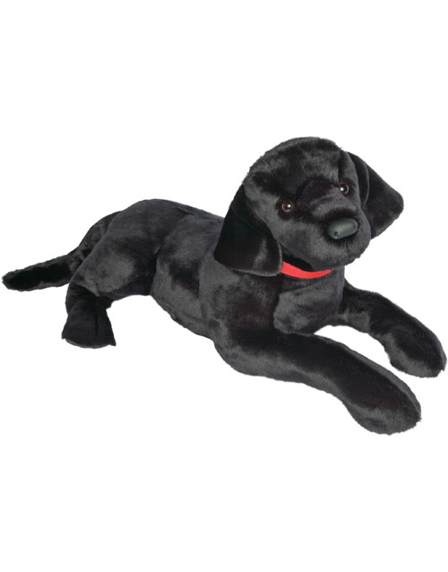 "Douglas Toy Plush Dickens Black Lab - 32""long"
