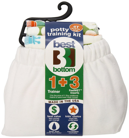 Best Bottom Potty Training Kit, Coconut, Large