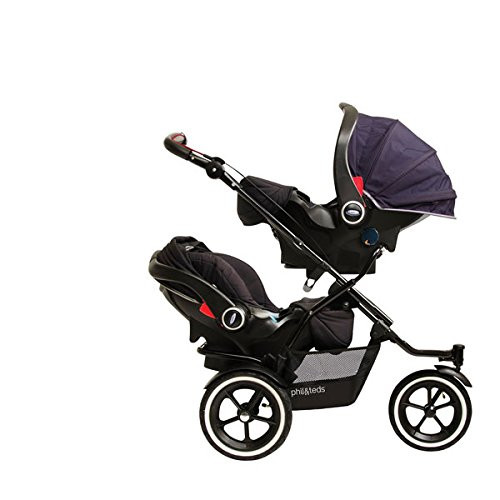 phil&teds Car Seat Adapter for Graco Snugride Classic Connect to Navigator and Dot Strollers, Second Seat Placement
