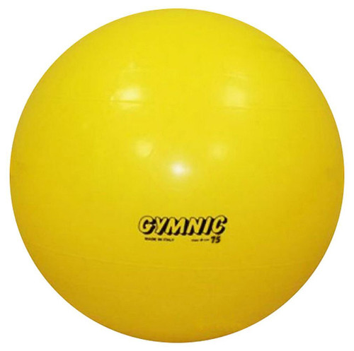 Physiotherapy 18 in. Dia. Gymnic Classic Ball in Yellow