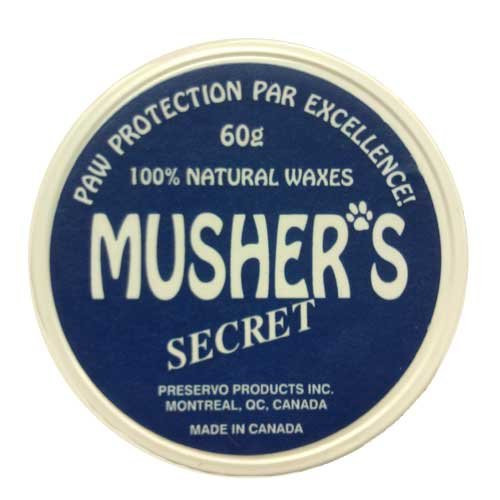 Mushers Secret 60gr - Natural Paw Protection for Your Dog by Dog Like Nature [Pet Supplies]