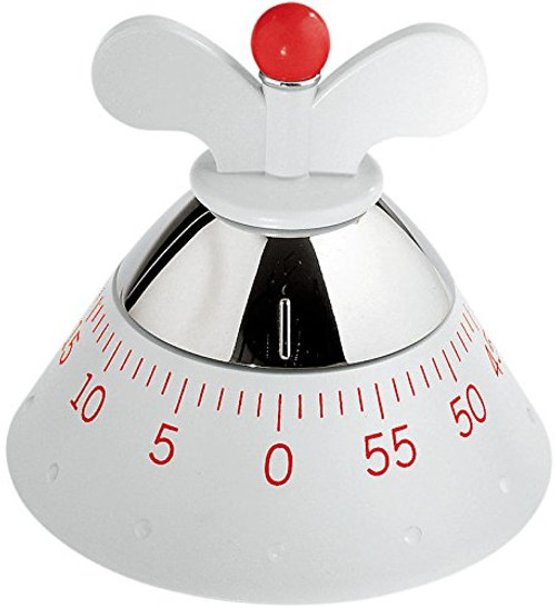 Alessi Kitchen Timer By Michael Graves White