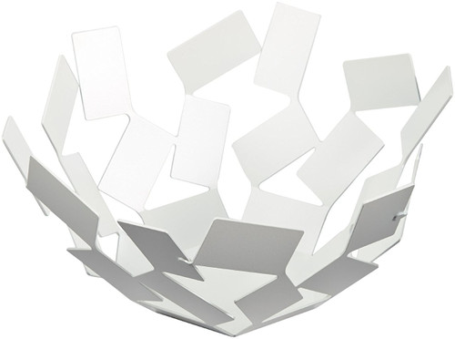"Alessi ""Stanza Dello Scirocco"" Fruit Holder, White"