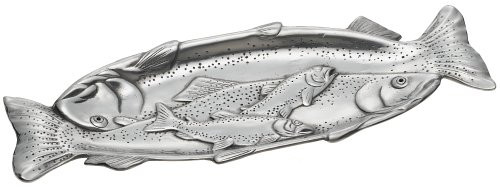 Arthur Court Trout 19-Inch Oblong Tray