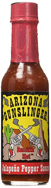 Arizona Gunslinger Red Jalapeño Pepper Sauce