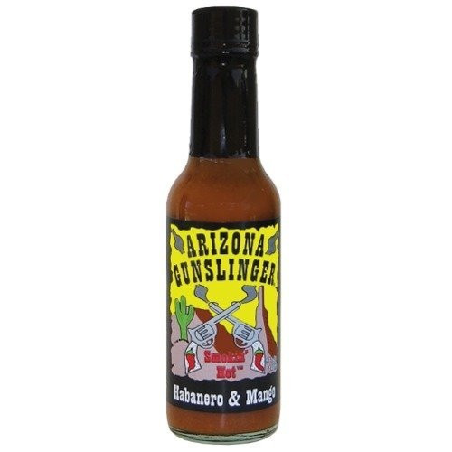 Arizona Gunslinger Habanero & Mango Pepper Sauce (1) 5 oz.